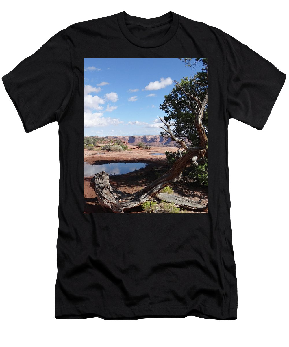 Utah Men's T-Shirt (Athletic Fit) featuring the photograph After The Rain by William Moore