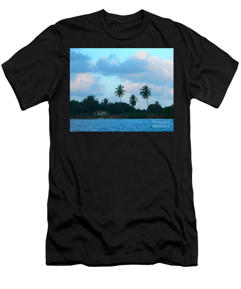 Men's T-Shirt (Athletic Fit) featuring the photograph Late Afternoon by Studio Two Twenty - Four