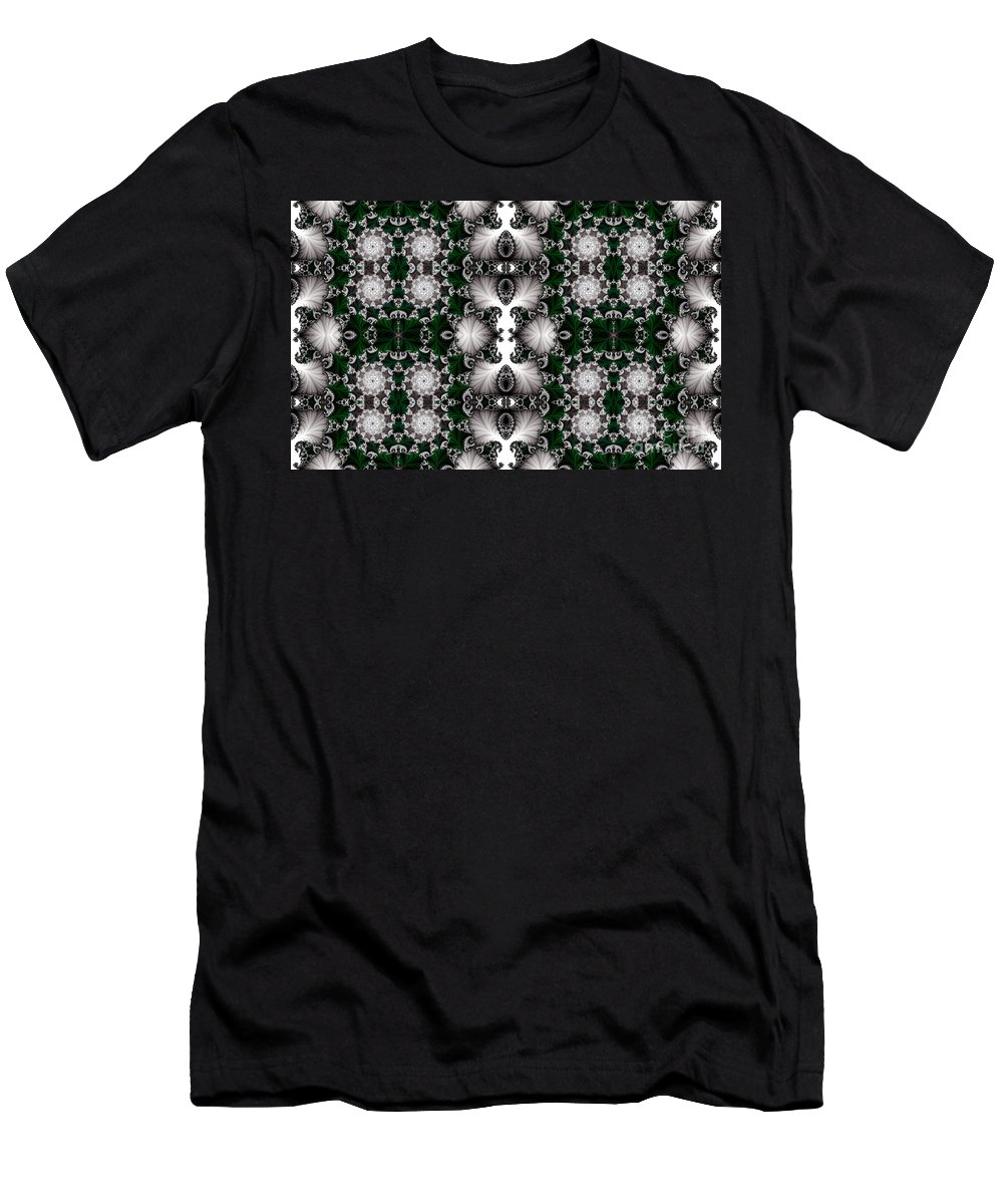 Clay Men's T-Shirt (Athletic Fit) featuring the digital art Leisure Times Four by Clayton Bruster