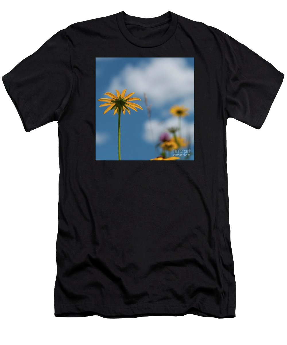 Festblues Men's T-Shirt (Athletic Fit) featuring the photograph Let The Sunshine In... by Nina Stavlund