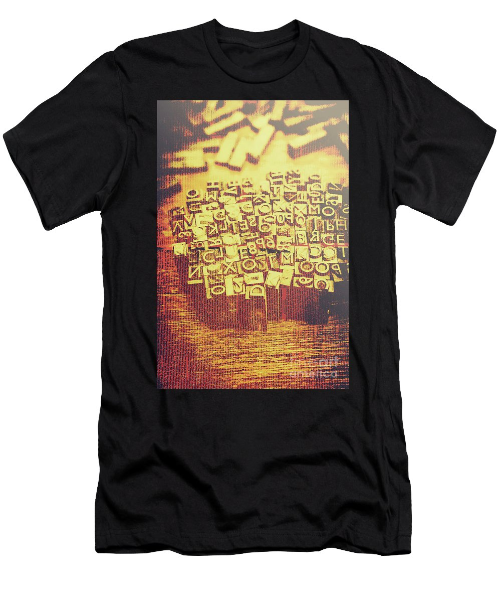 Written Language Photographs T-Shirts