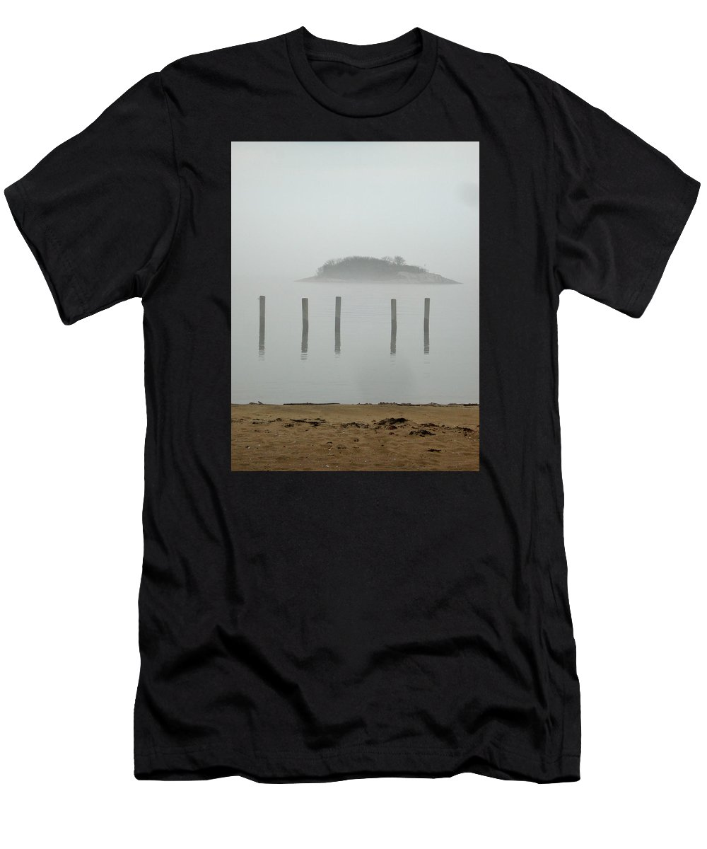 Landscape Men's T-Shirt (Athletic Fit) featuring the photograph Level 5 by Nelson F Martinez