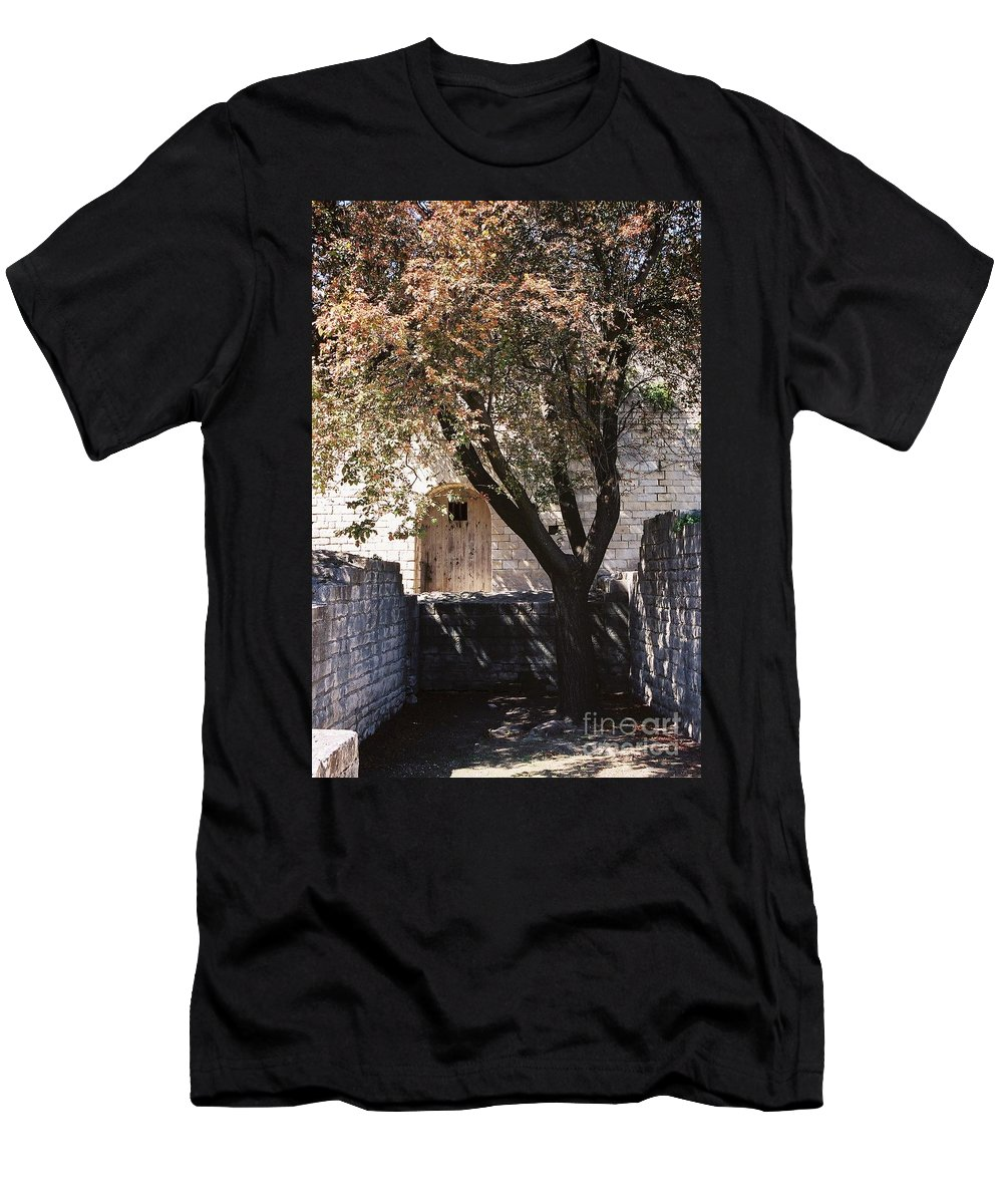 Life Men's T-Shirt (Athletic Fit) featuring the photograph Life And Death by Nadine Rippelmeyer