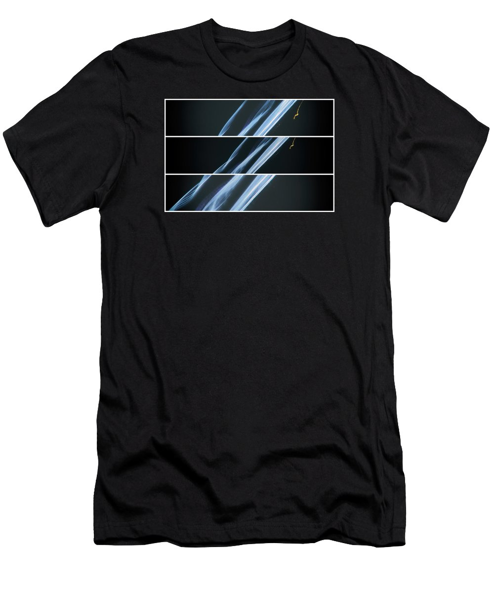 Abstract Men's T-Shirt (Athletic Fit) featuring the photograph Zorro Of Time by John Williams