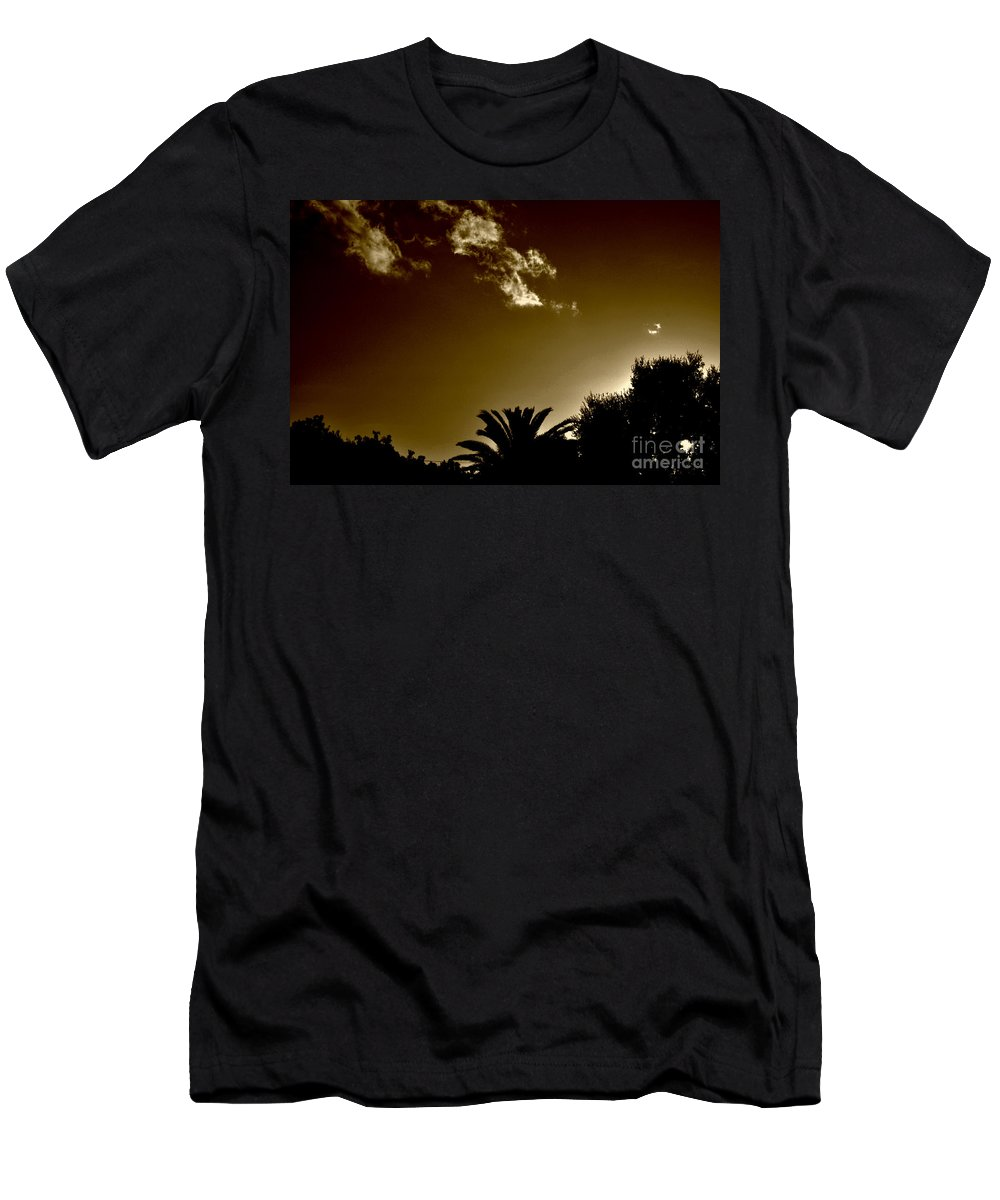 Clay Men's T-Shirt (Athletic Fit) featuring the photograph Lights by Clayton Bruster