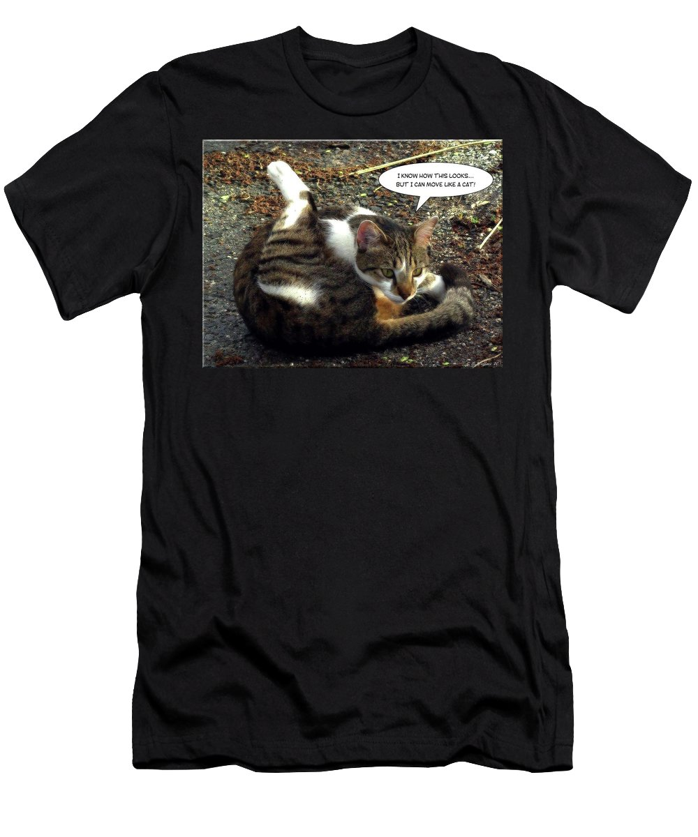 2d Men's T-Shirt (Athletic Fit) featuring the photograph Like A Cat by Brian Wallace