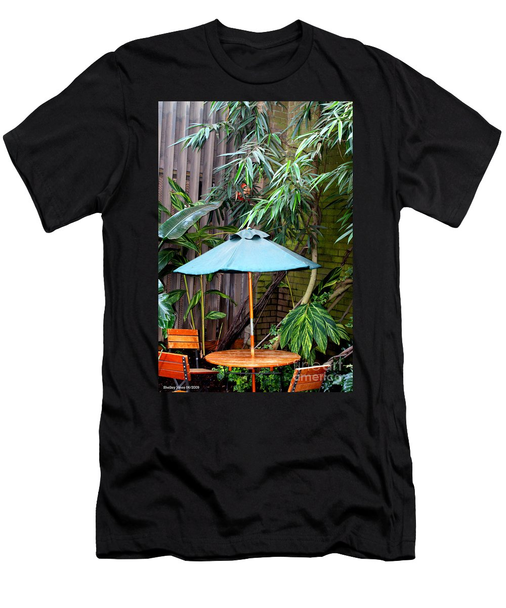 Photography Men's T-Shirt (Athletic Fit) featuring the photograph Little Oasis by Shelley Jones