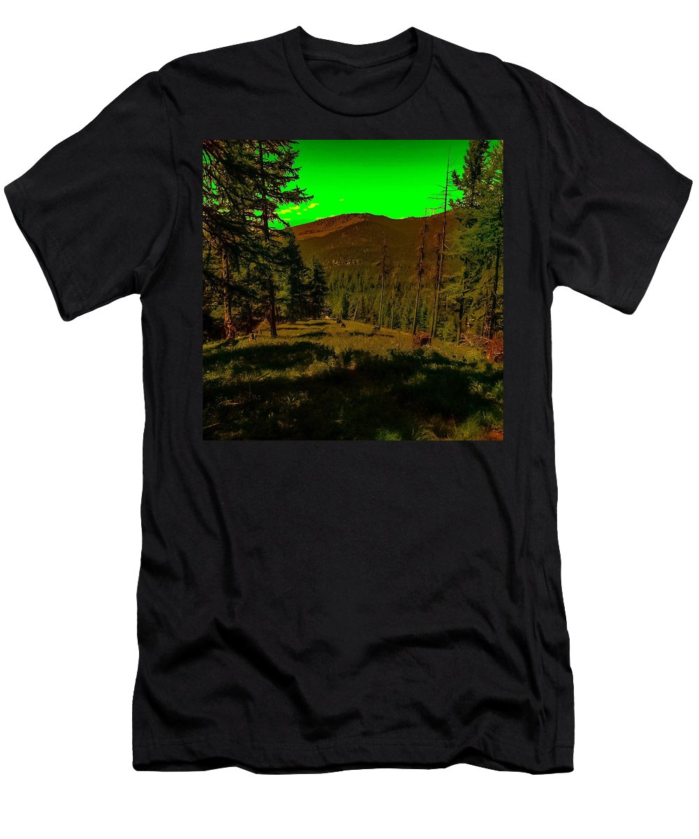 Men's T-Shirt (Athletic Fit) featuring the photograph Lofty Spirit by Dan Hassett