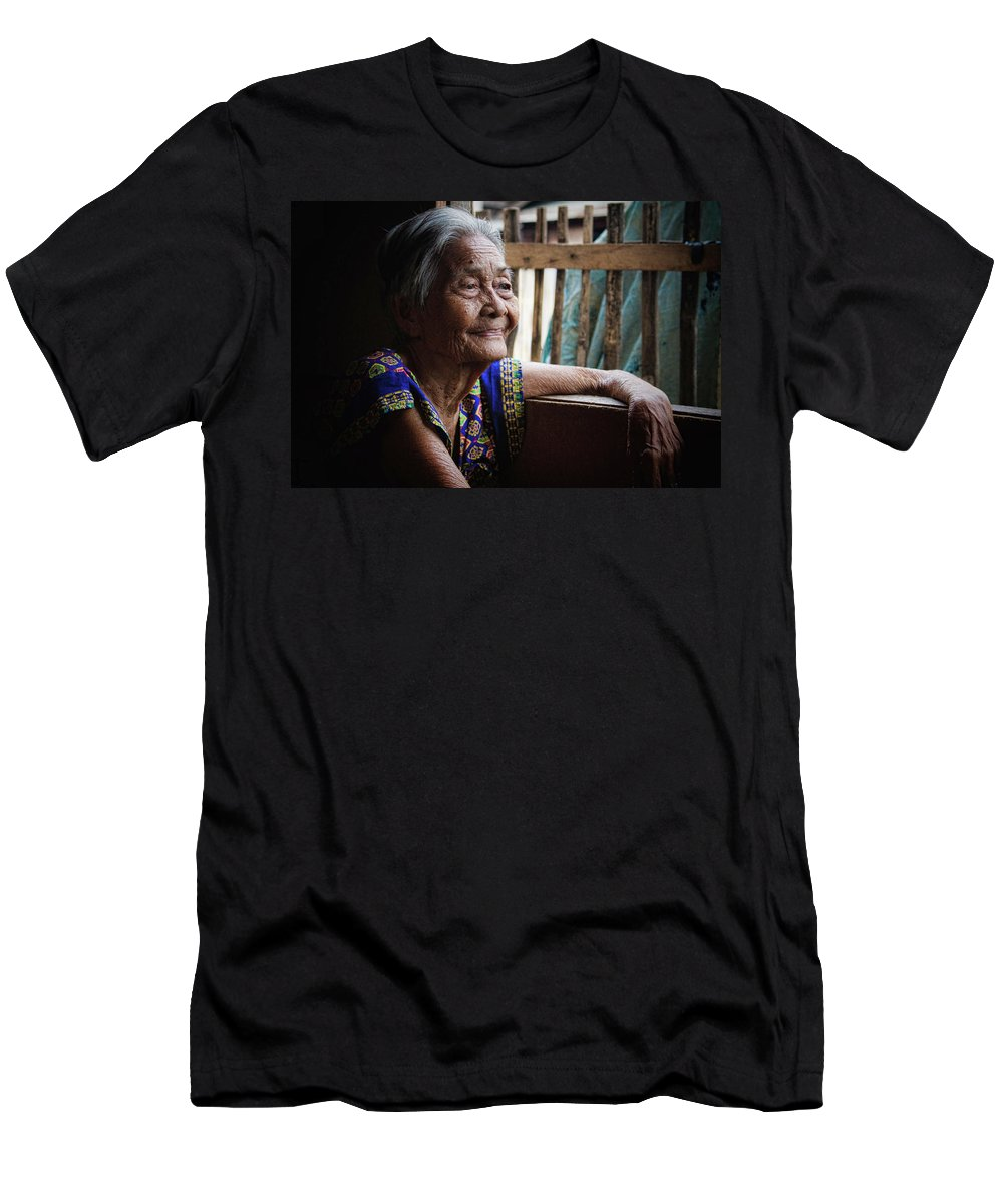 Philippines Men's T-Shirt (Athletic Fit) featuring the photograph Lola by James BO Insogna