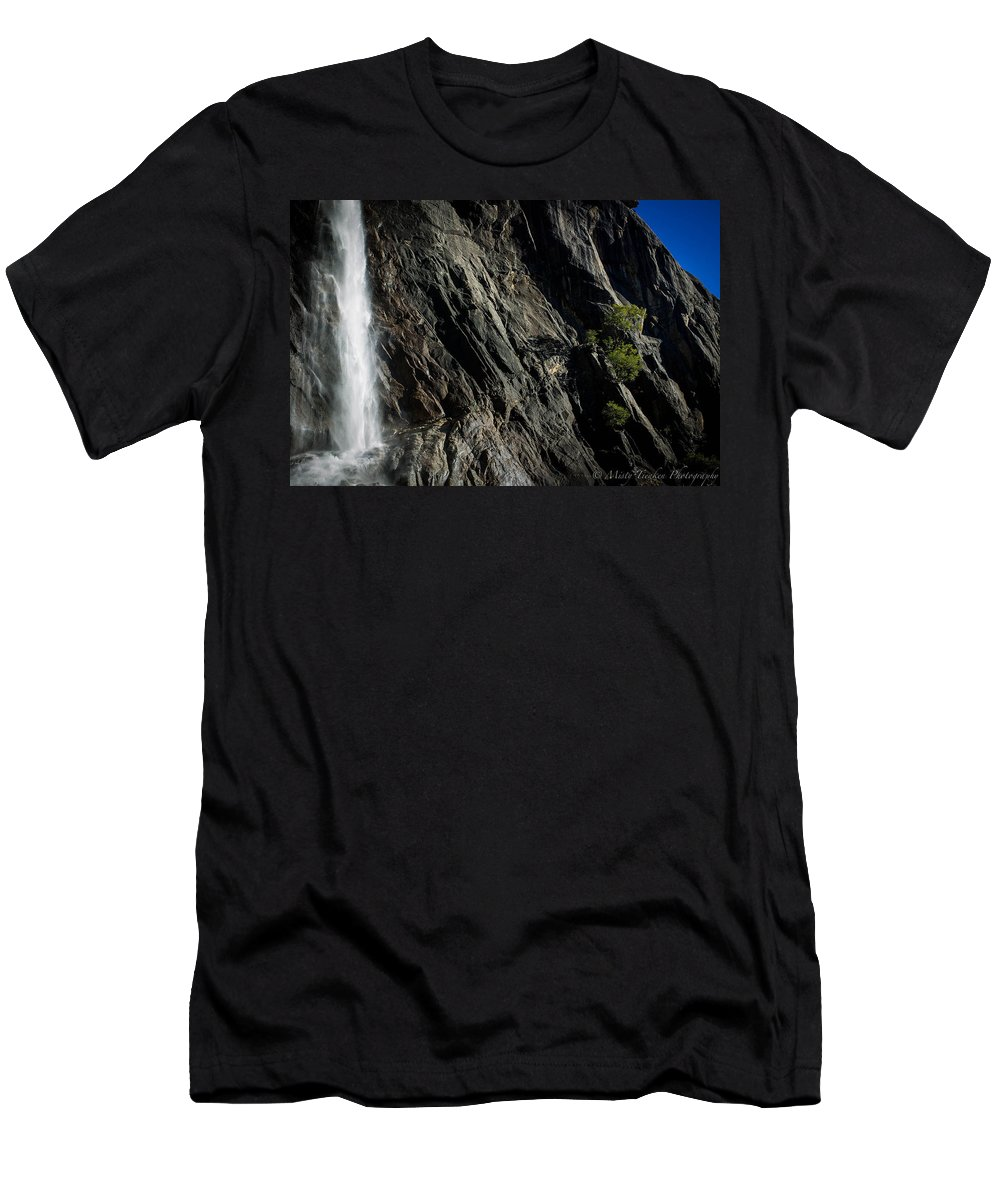 Yosemite Men's T-Shirt (Athletic Fit) featuring the photograph Lonely by Misty Tienken