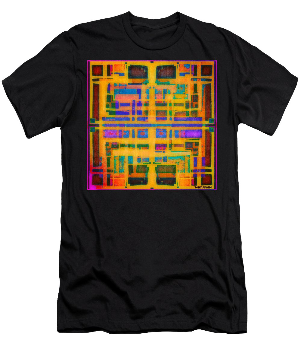 Look Closely The Ancients Walk Among Us Men's T-Shirt (Athletic Fit) featuring the digital art Look Closely The Ancients Walk Among Us by Tony Adamo
