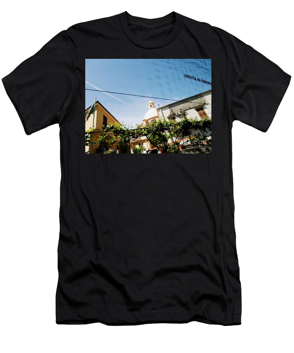 Sorrento Men's T-Shirt (Athletic Fit) featuring the photograph Look Up by Kristie Rocca