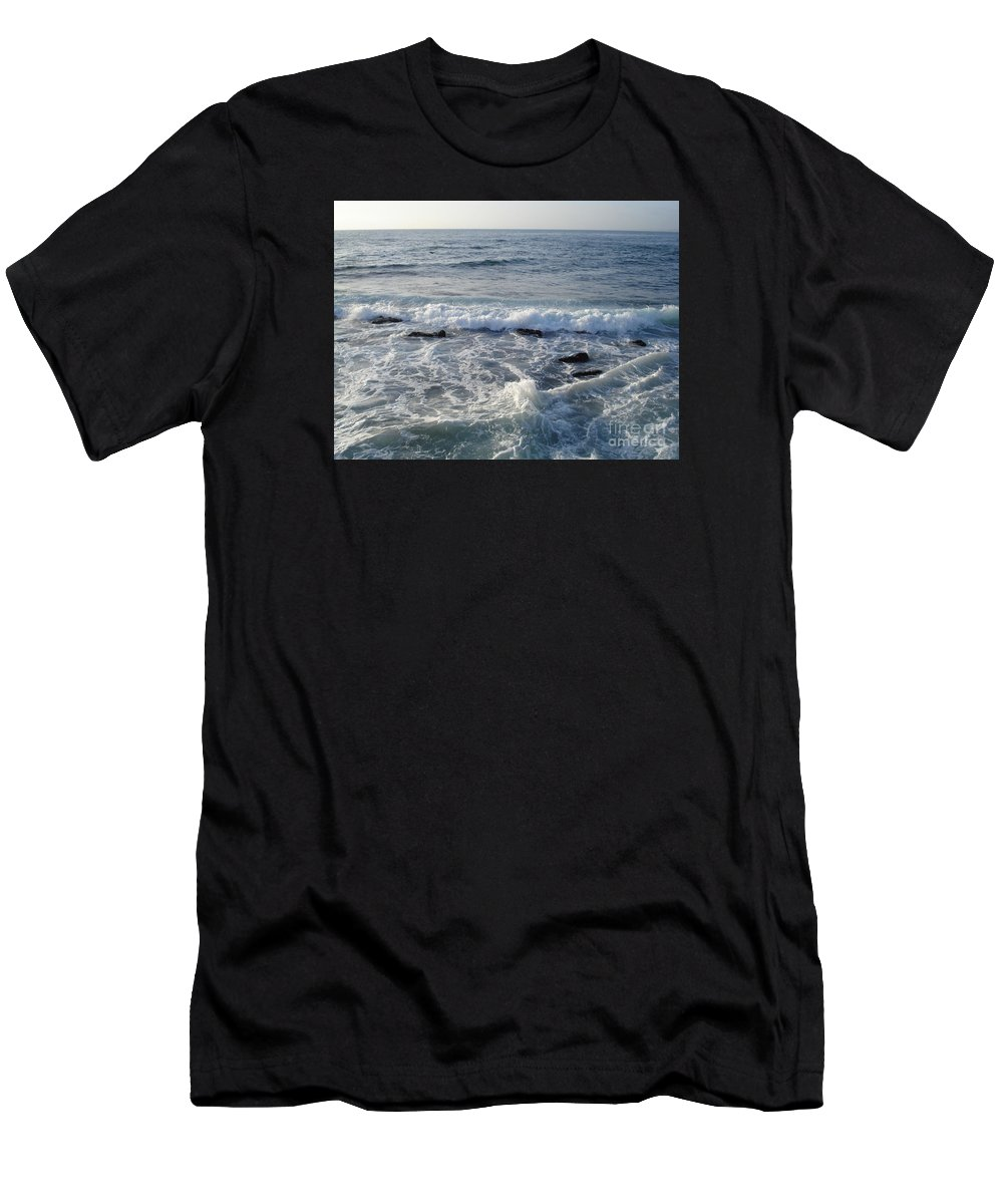 Ocean Men's T-Shirt (Athletic Fit) featuring the photograph Lost At Sea by Madilyn Fox