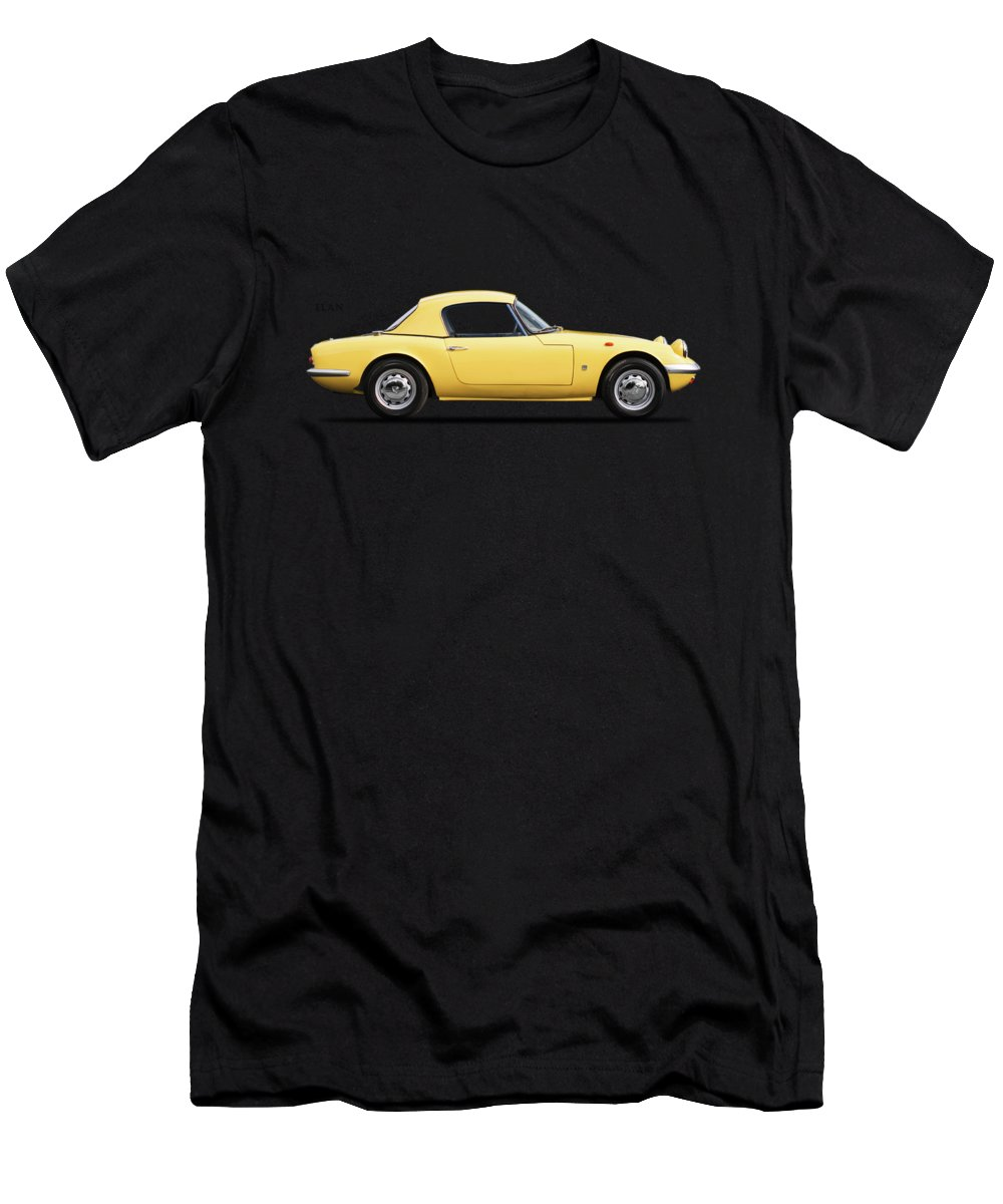 Lotus Elan Men's T-Shirt (Athletic Fit) featuring the photograph Lotus Elan 1963 by Mark Rogan