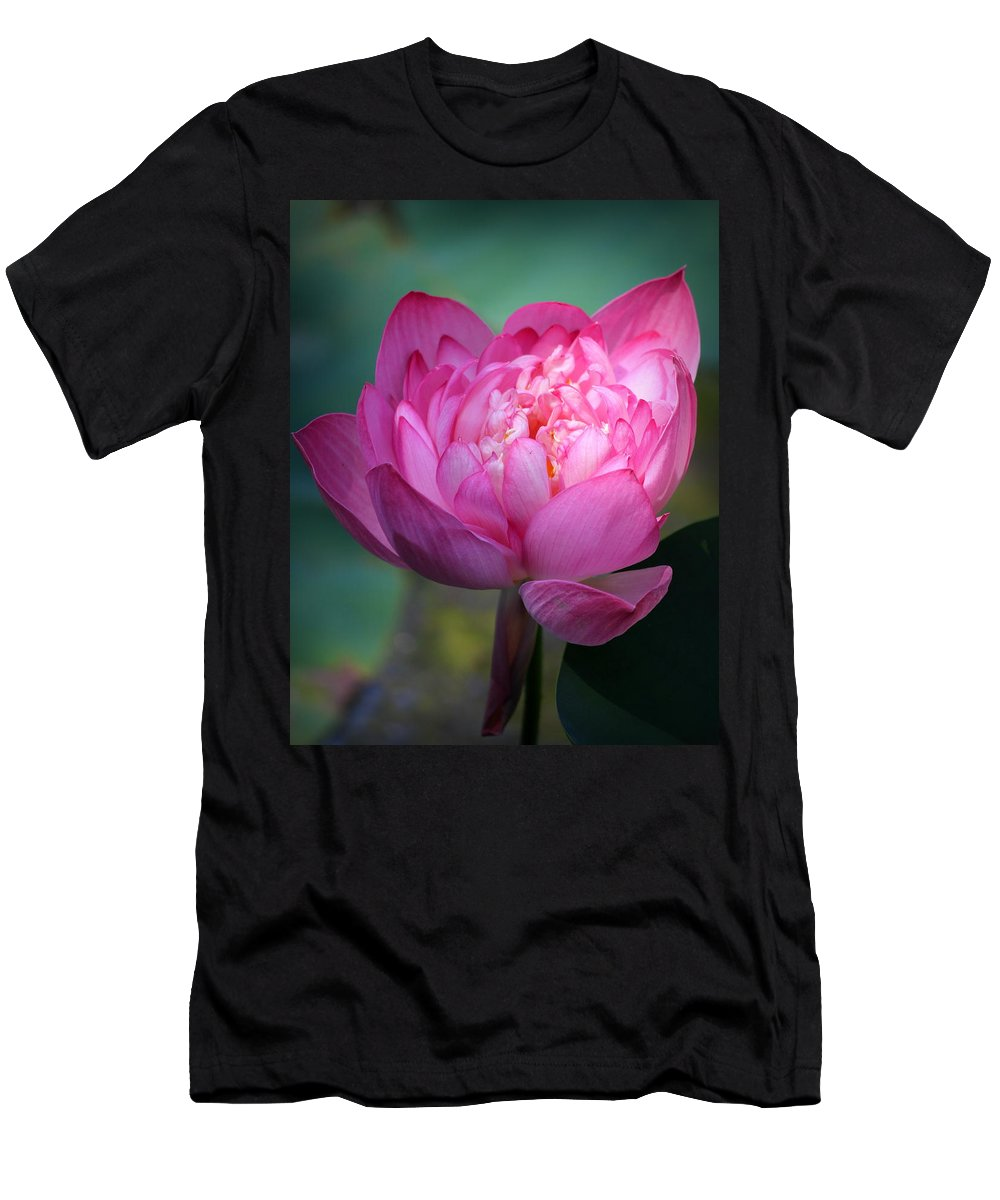 Men's T-Shirt (Athletic Fit) featuring the photograph Lotus by Nikky Nish