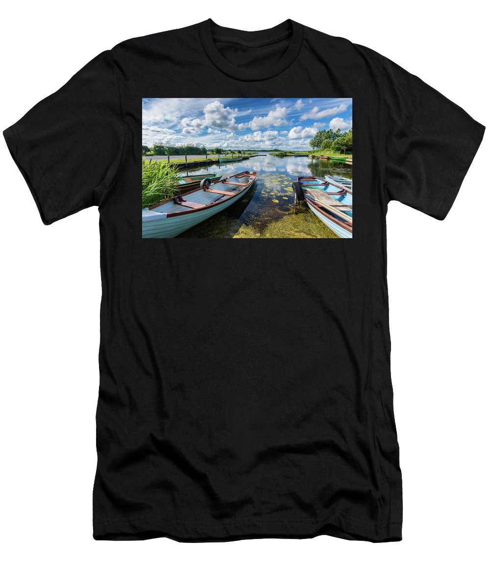 Landscape T-Shirt featuring the photograph Lough O'Flynn, Roscommon, Ireland by Anthony Lawlor