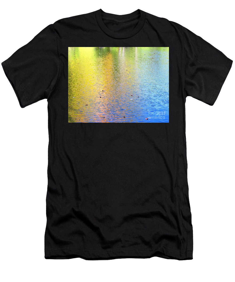 Water Men's T-Shirt (Athletic Fit) featuring the photograph Love Calls Unceasingly by Sybil Staples
