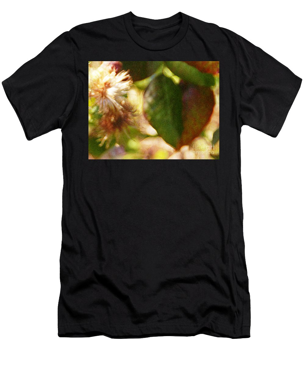 Wildflower Men's T-Shirt (Athletic Fit) featuring the photograph Love Notes by Linda Shafer