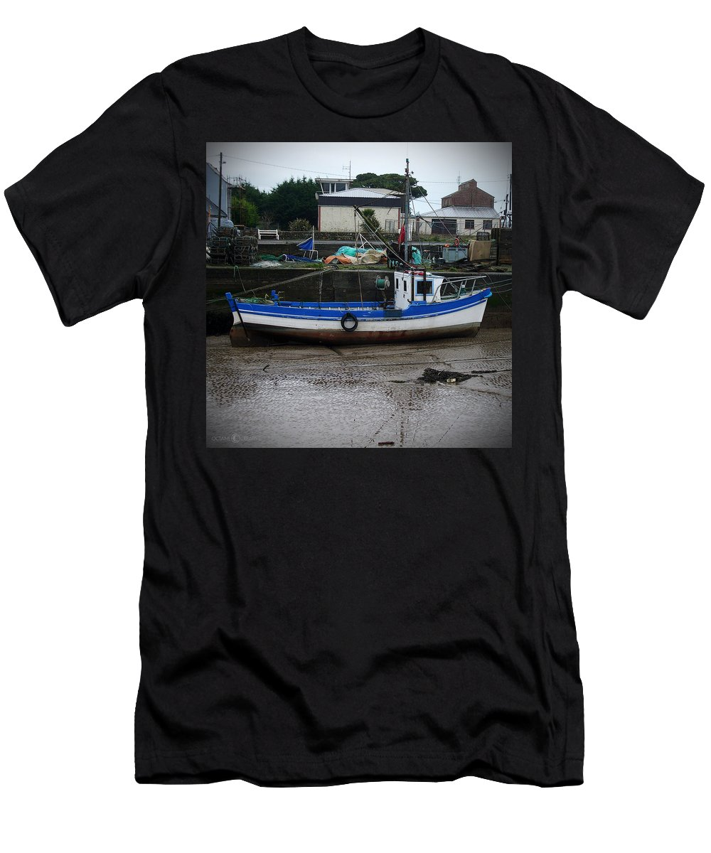 Boat T-Shirt featuring the photograph Low Tide by Tim Nyberg