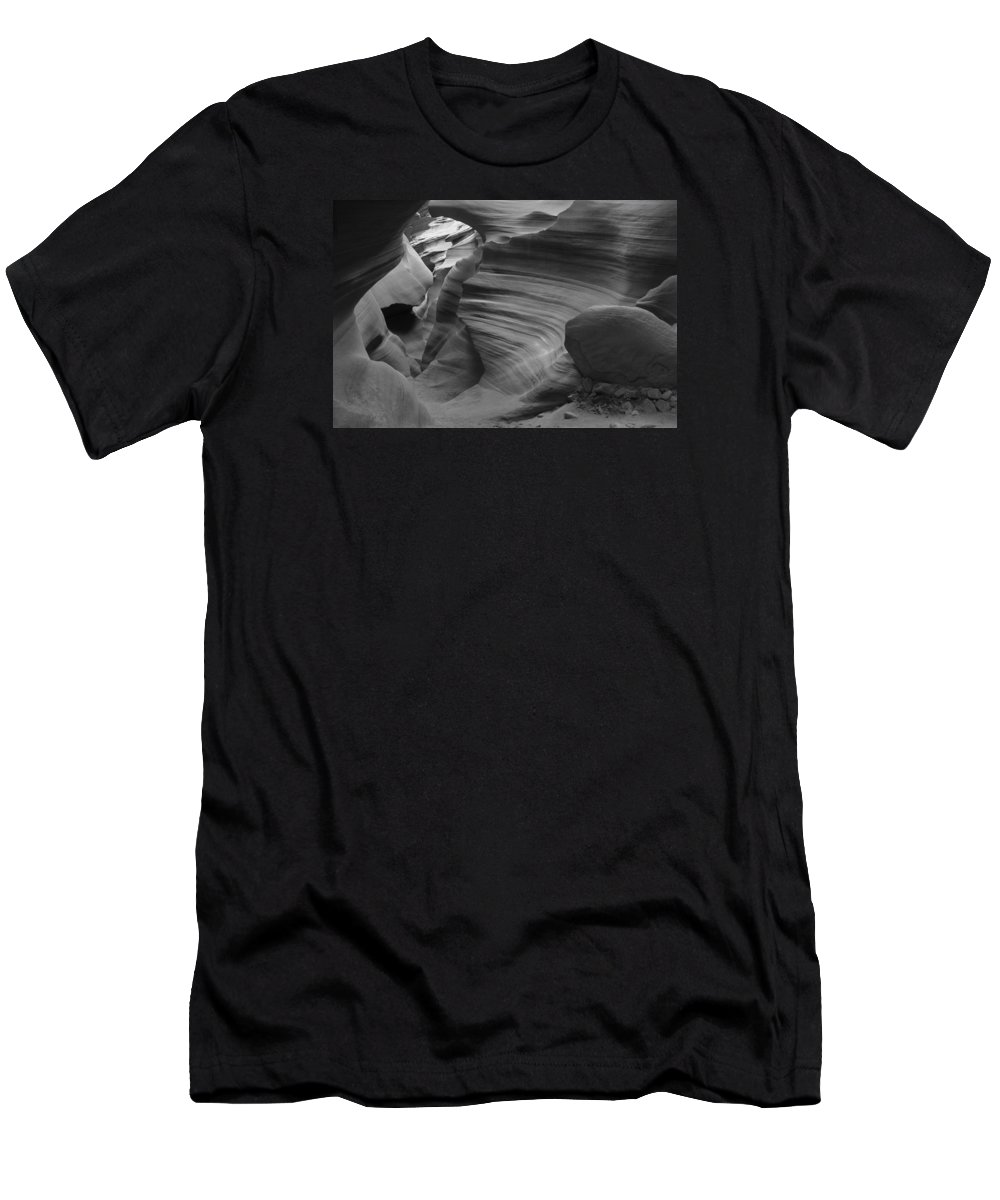 Slot Men's T-Shirt (Athletic Fit) featuring the photograph Lower Antelope Canyon 2 7843 by Bob Neiman