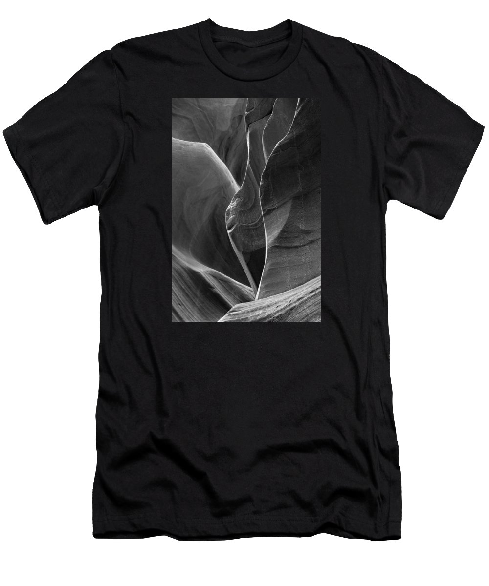 Slot Men's T-Shirt (Athletic Fit) featuring the photograph Lower Antelope Canyon 2 7968 by Bob Neiman