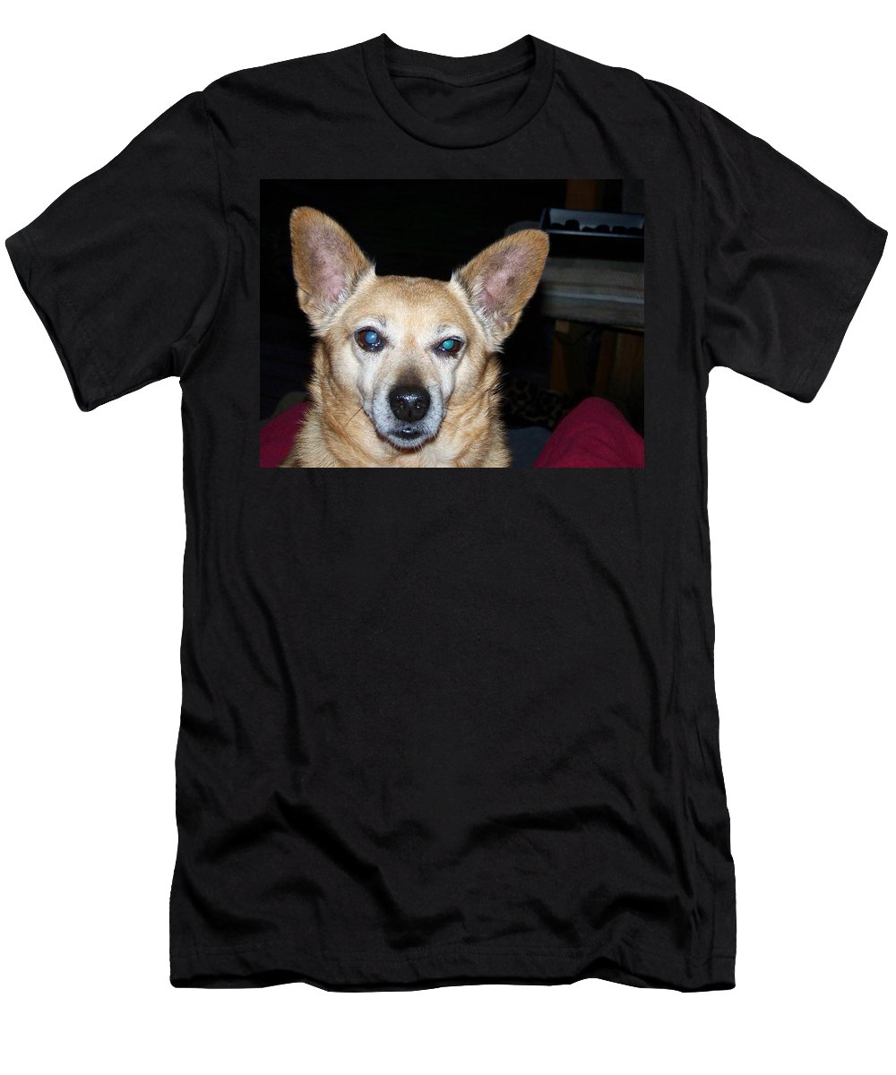 Digital Artwork Men's T-Shirt (Athletic Fit) featuring the photograph Loyalty by Laurie Kidd