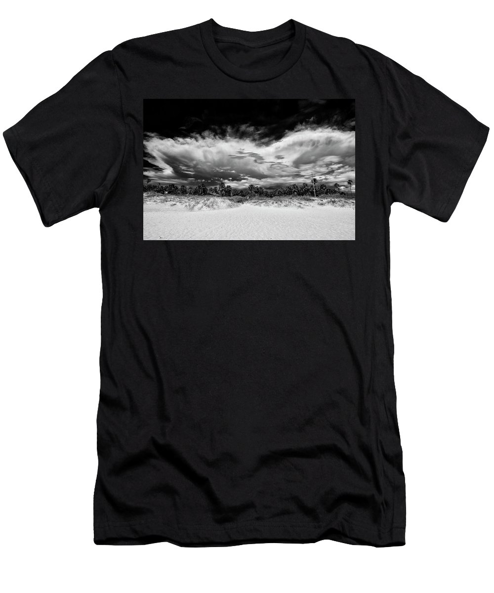 Madeira Beach Men's T-Shirt (Athletic Fit) featuring the photograph Madeira Beach by Kevin Cable