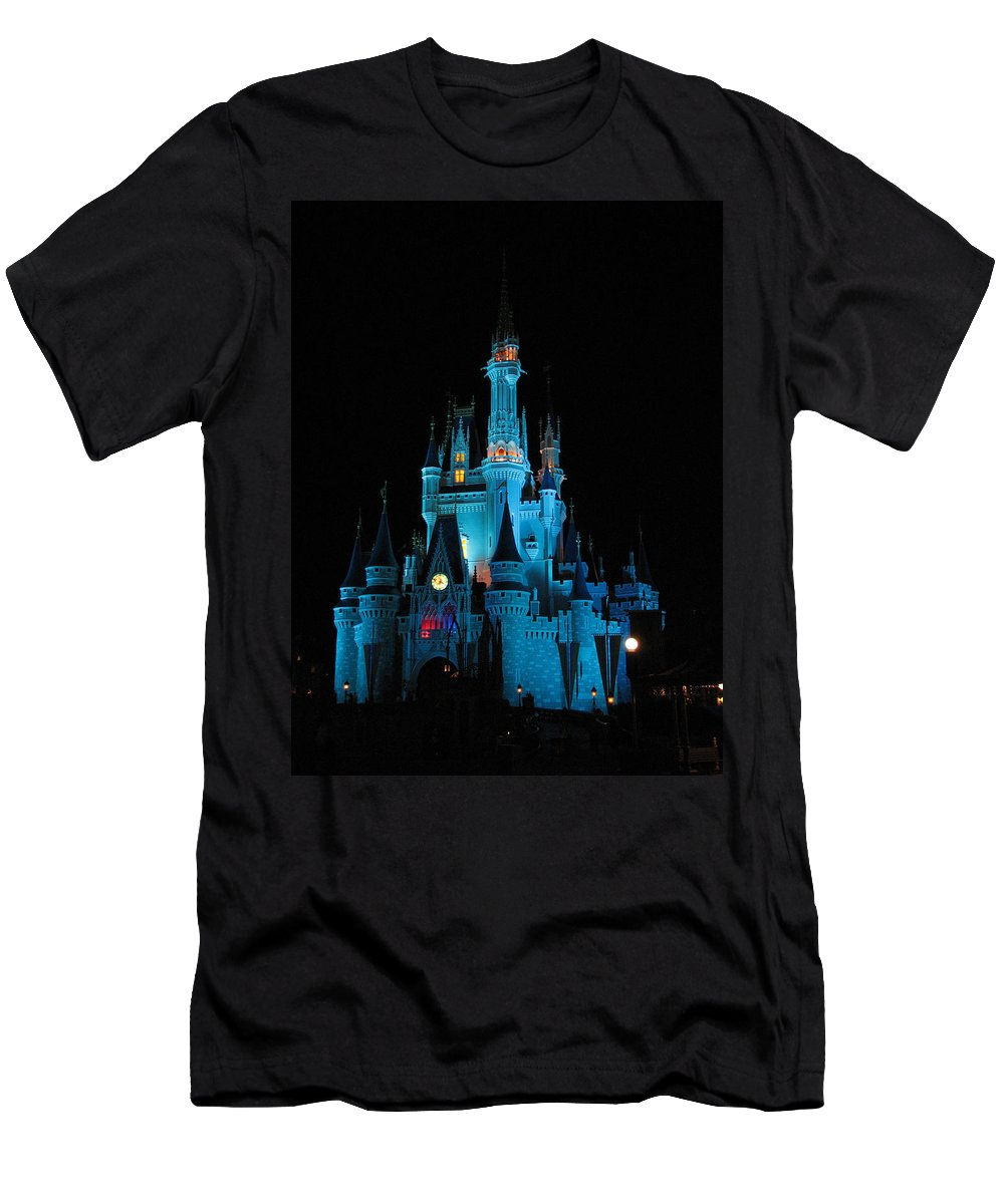 Disney T-Shirt featuring the photograph Magic Kingdom by Creative Solutions RipdNTorn