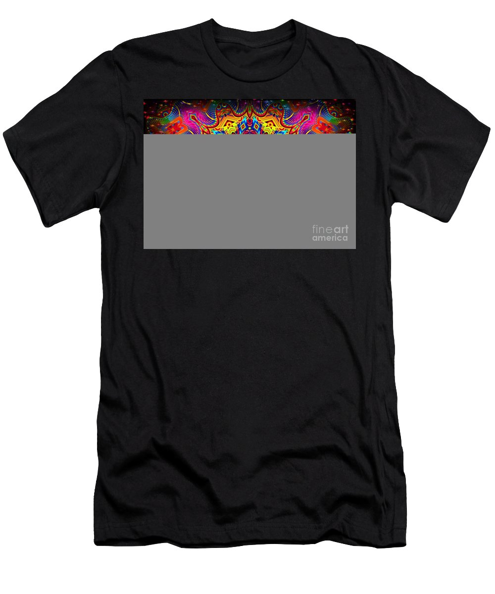 Bright Men's T-Shirt (Athletic Fit) featuring the digital art Magically Delicious by Robert Orinski