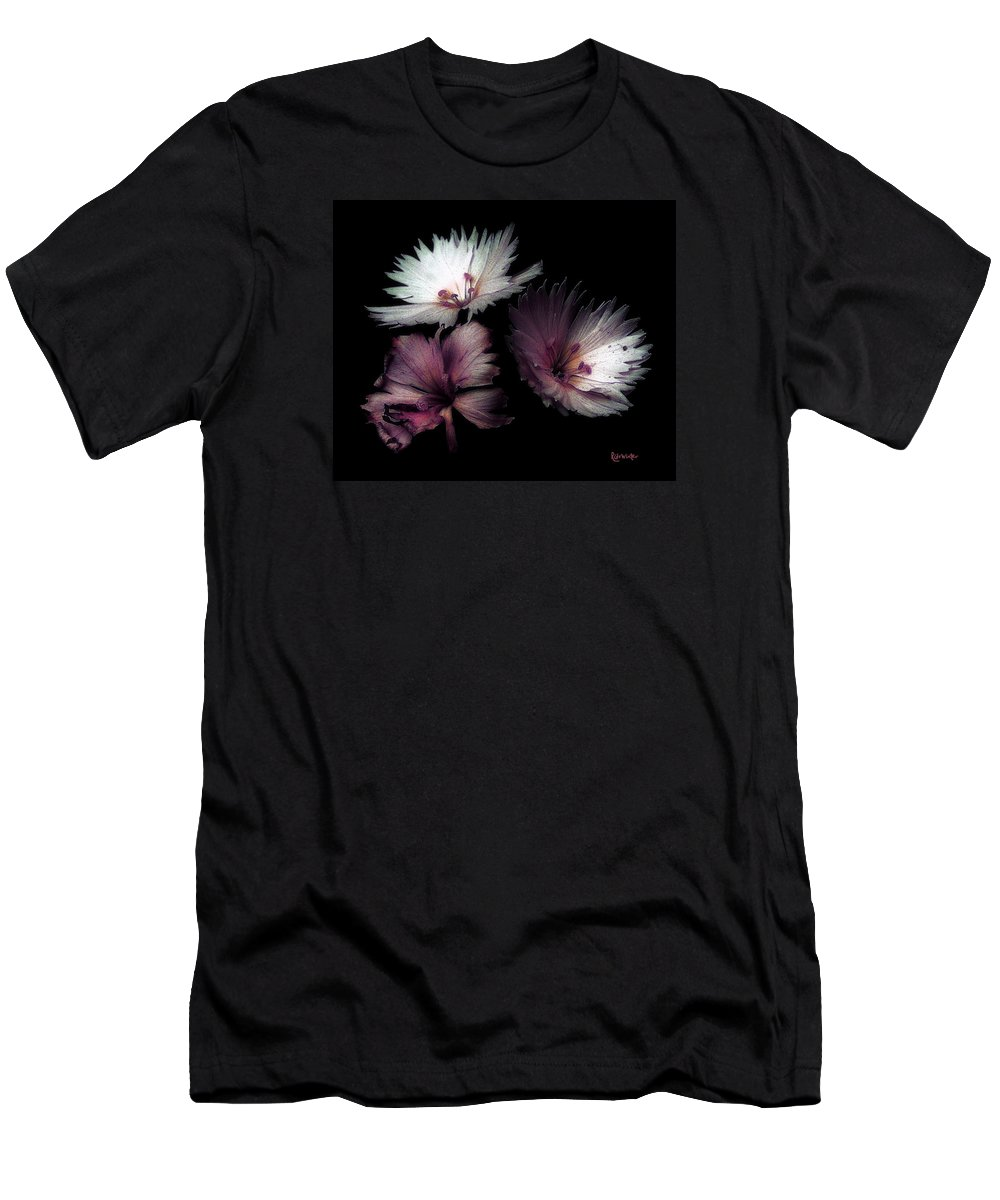 Dianthus Men's T-Shirt (Athletic Fit) featuring the painting Maiden Mother Crone by RC DeWinter