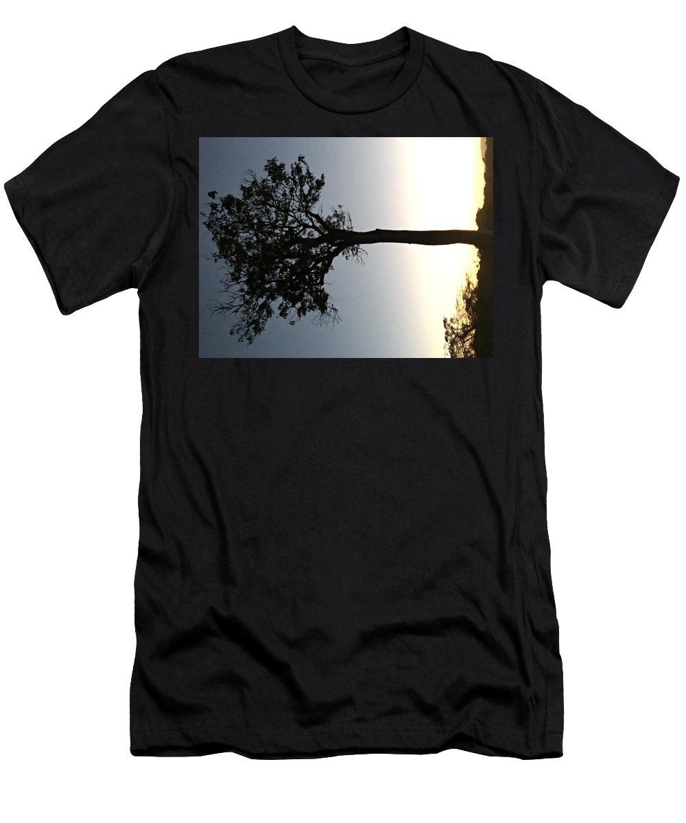 Sunet Men's T-Shirt (Athletic Fit) featuring the photograph Mara Sunset by Assen Photography
