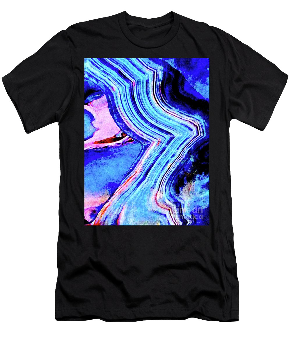 Marble Men's T-Shirt (Athletic Fit) featuring the photograph Marble 201 by Ken Lerner