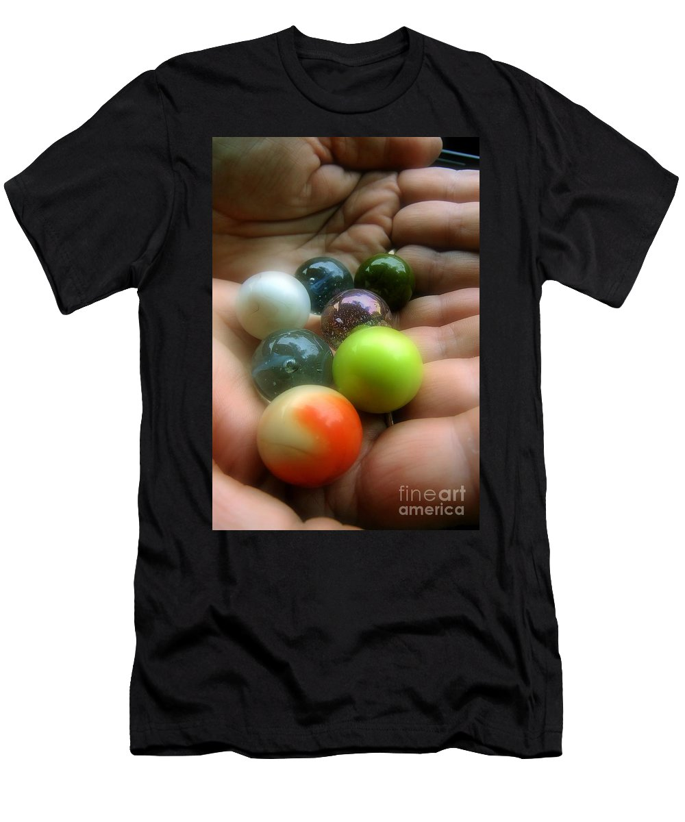 Collectibles Men's T-Shirt (Athletic Fit) featuring the photograph Marbled by RC DeWinter