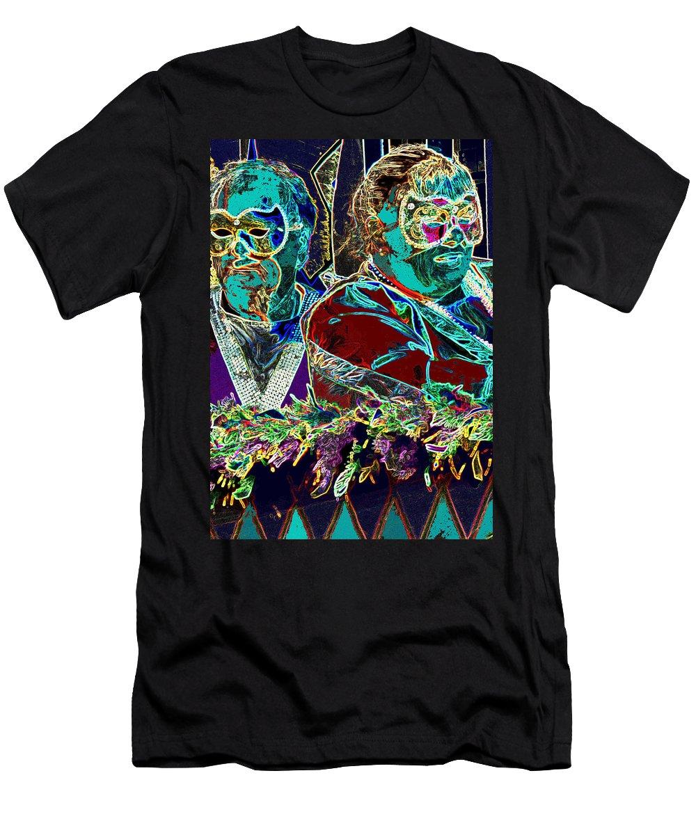 Mardi Gras Men's T-Shirt (Athletic Fit) featuring the photograph Mardi Gras by Ian MacDonald