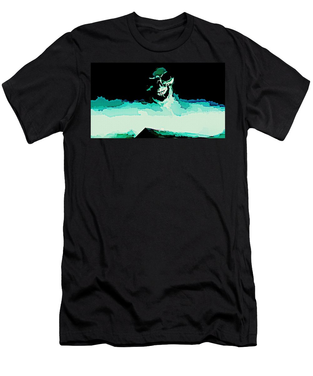 Marianne Men's T-Shirt (Athletic Fit) featuring the digital art Marianne by Lora Battle