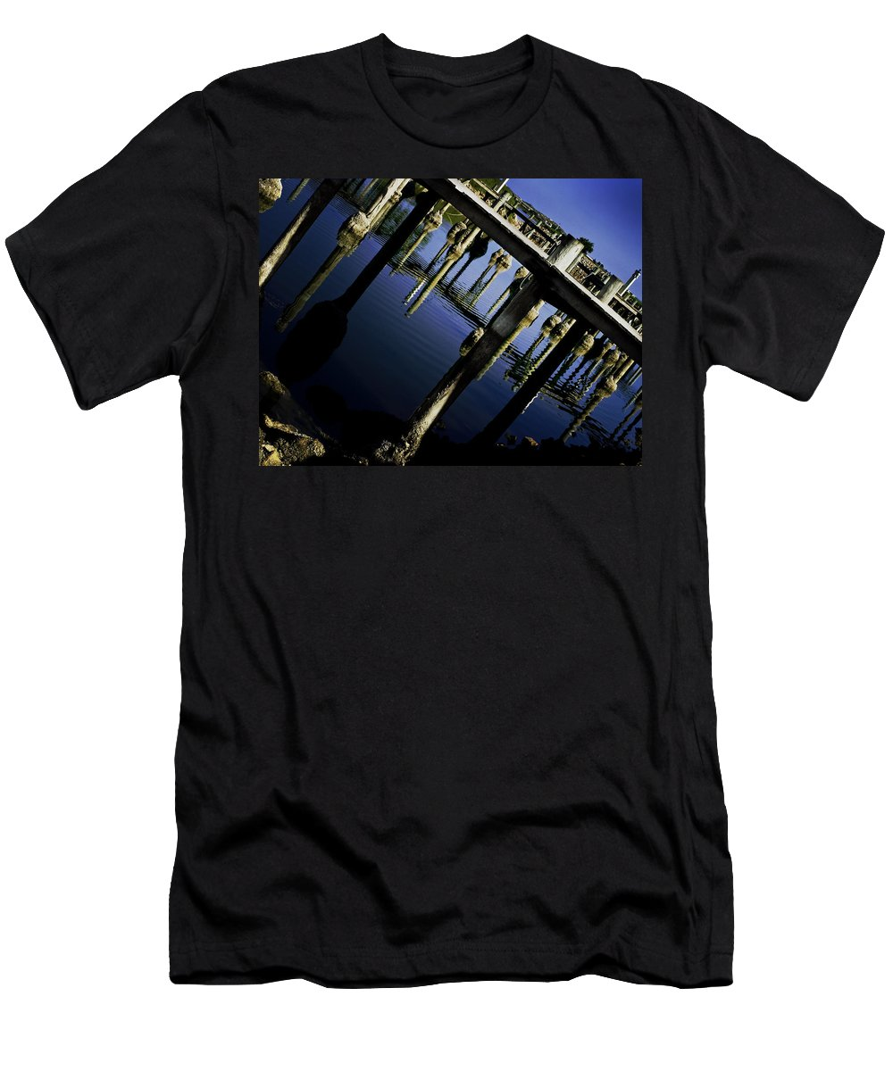 Marina Men's T-Shirt (Athletic Fit) featuring the photograph Marina by Kelly Jade King