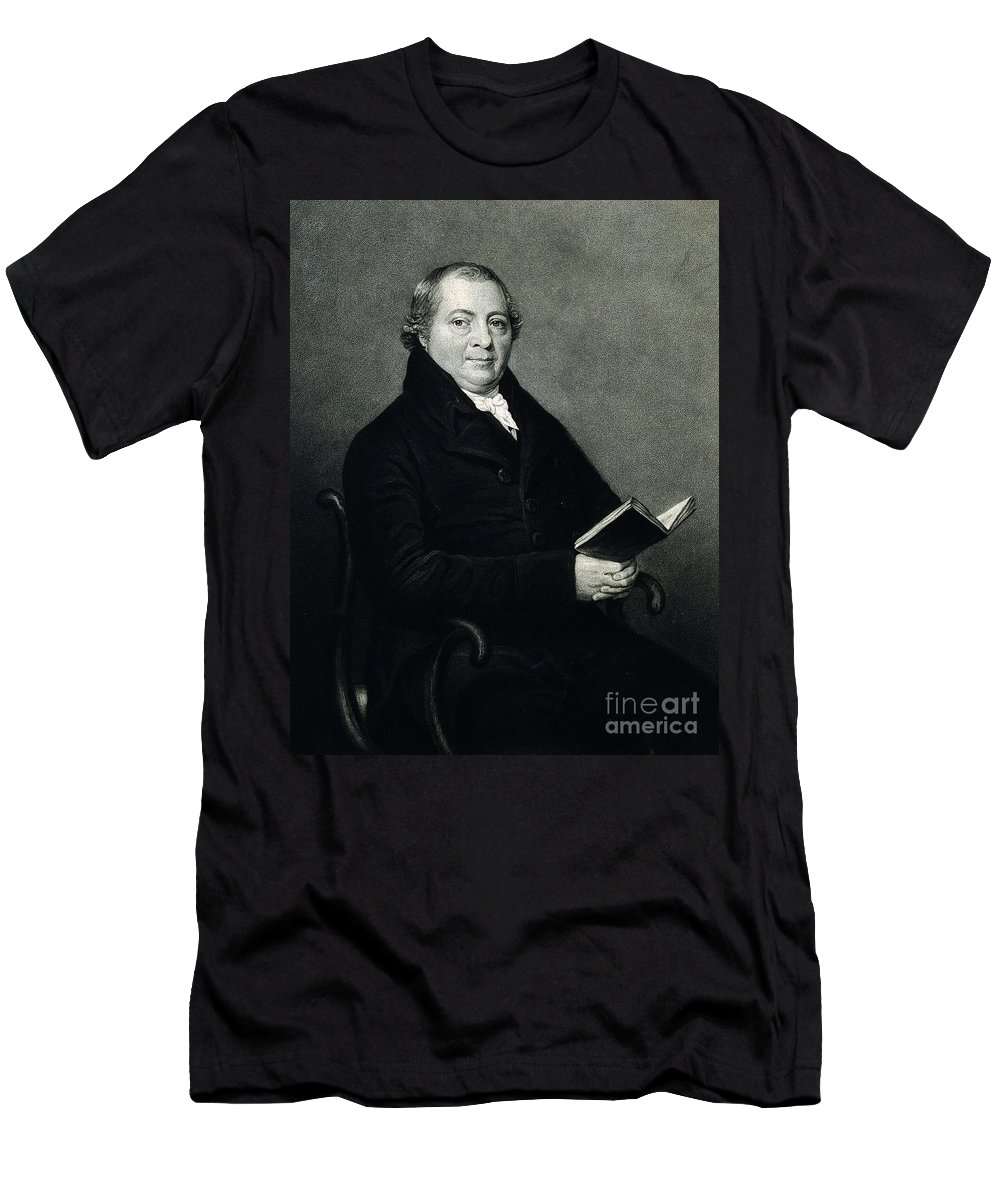 Science Men's T-Shirt (Athletic Fit) featuring the photograph Martin Heinrich Klaproth, German Chemist by Wellcome Images