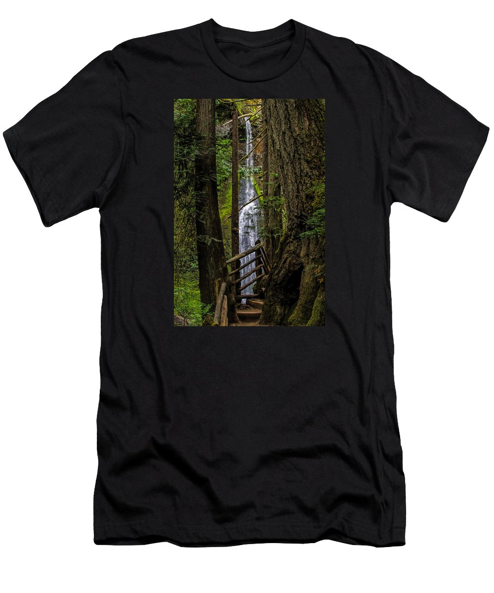 Water Fall T-Shirt featuring the photograph Mary Mere by Alana Thrower