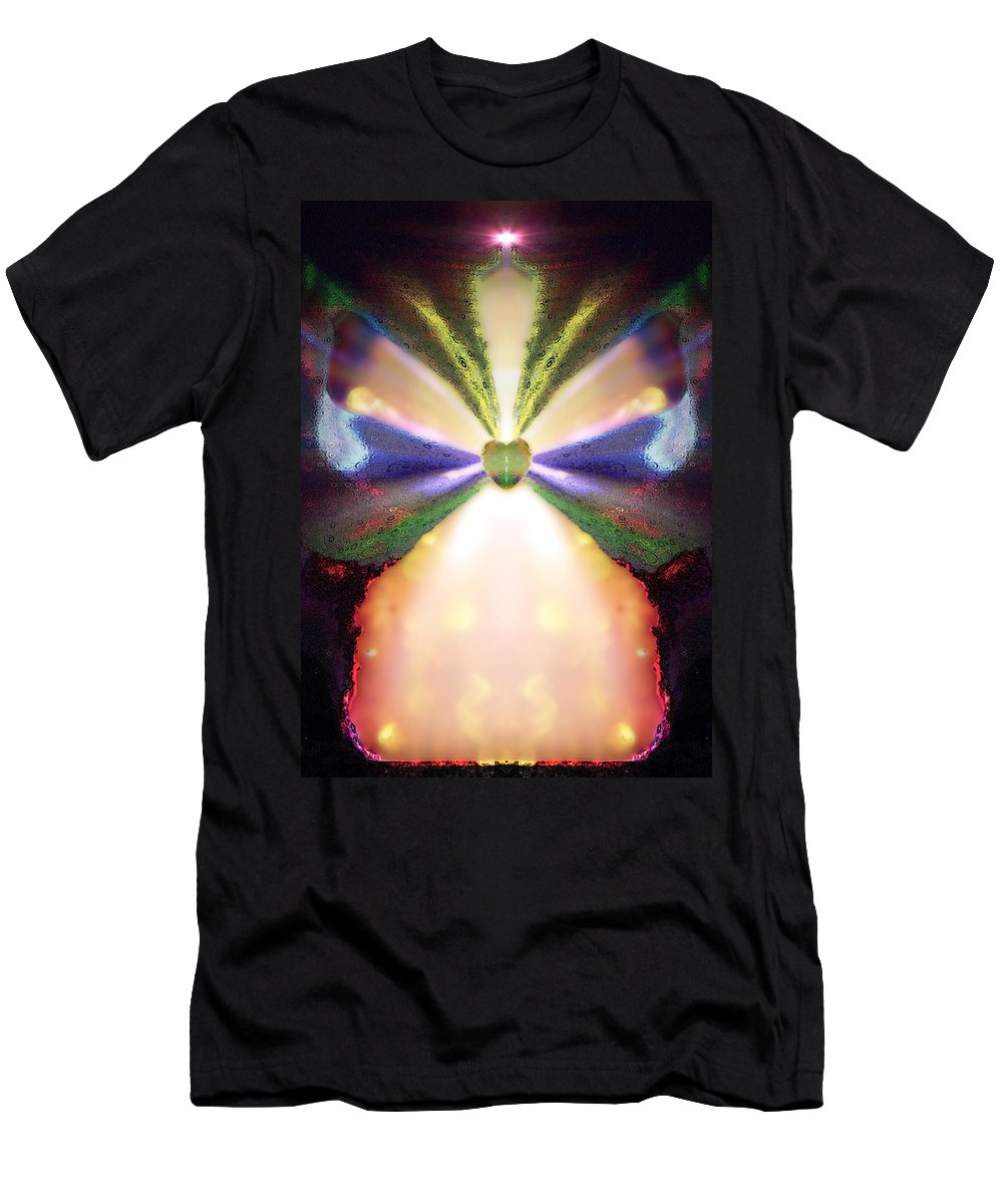 Angel Men's T-Shirt (Athletic Fit) featuring the digital art Mastho by Raymel Garcia