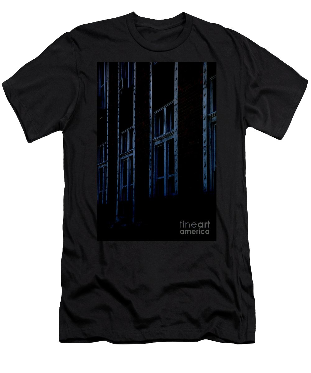 Windows Men's T-Shirt (Athletic Fit) featuring the photograph Matrix by Amanda Barcon