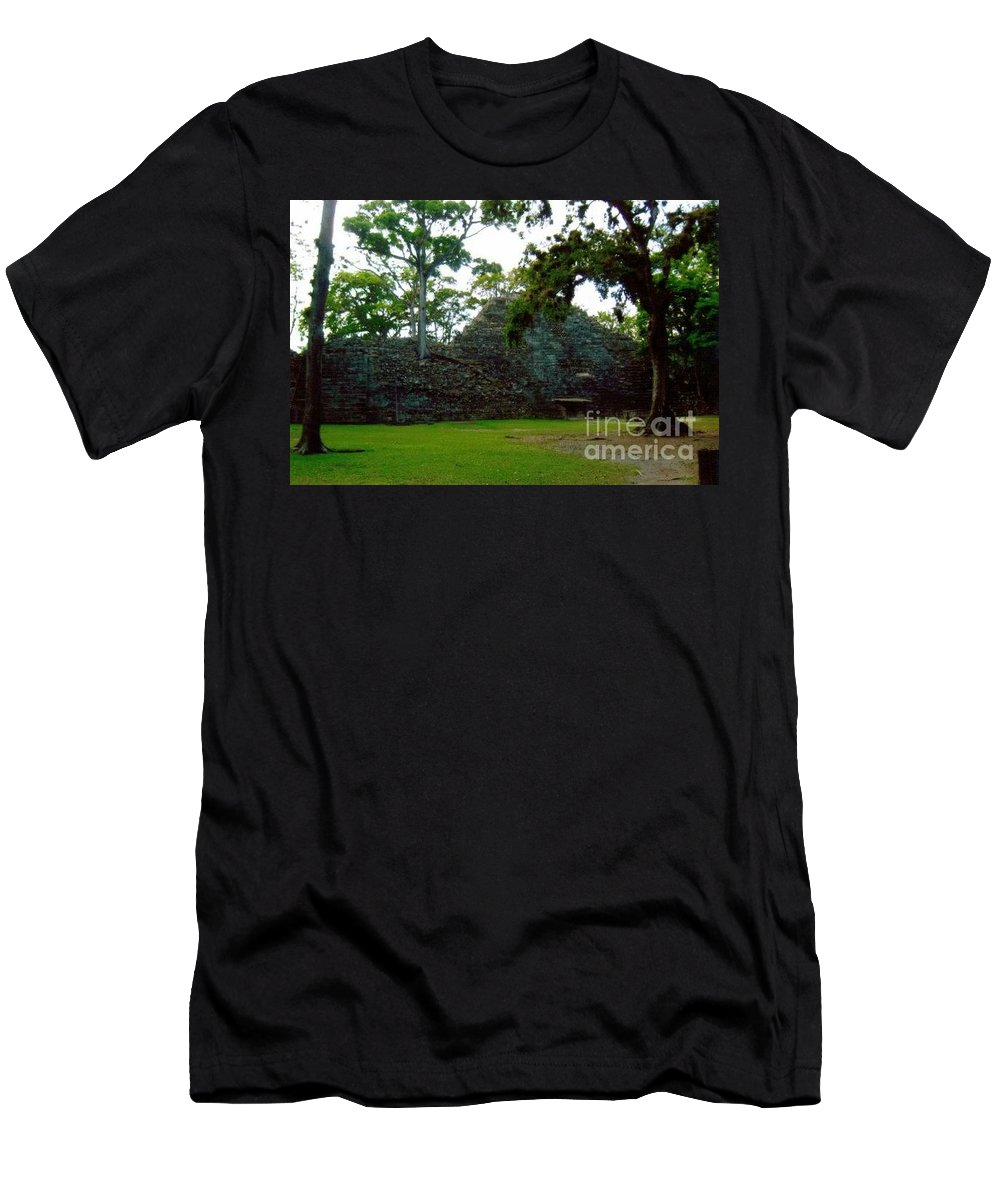 Men's T-Shirt (Athletic Fit) featuring the photograph Mayan by Studio Two Twenty - Four