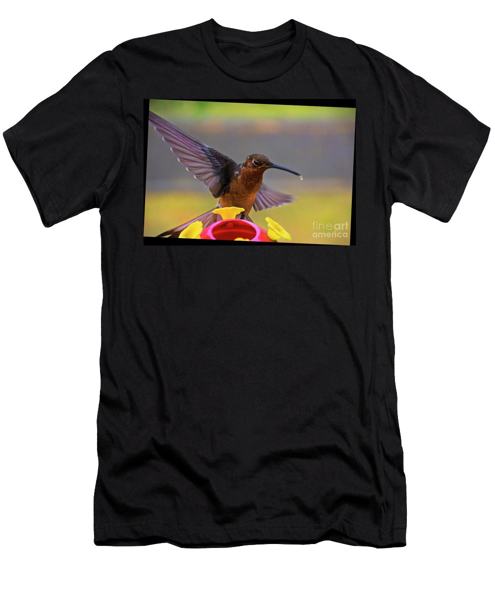 Andre Men's T-Shirt (Athletic Fit) featuring the photograph Meet Andre The Giant II by Al Bourassa