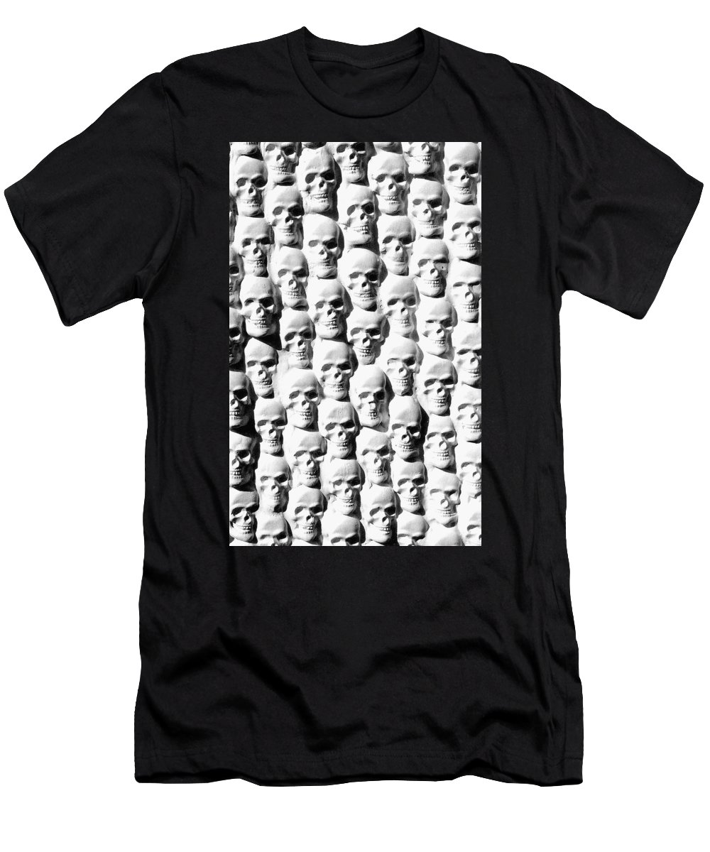 Figurative Men's T-Shirt (Athletic Fit) featuring the sculpture Melancholic Journey 2 by Mark Cawood