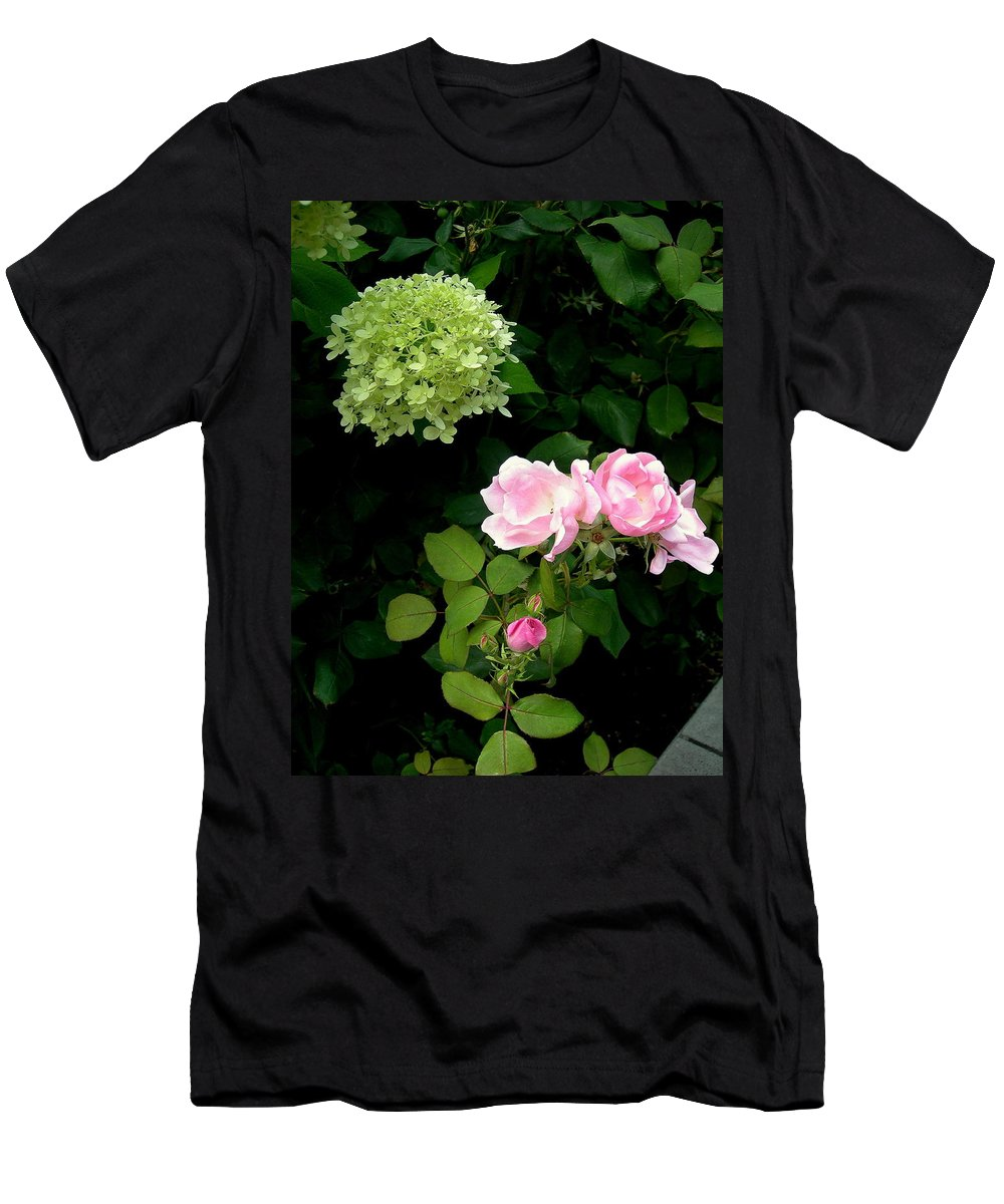 Garden Men's T-Shirt (Athletic Fit) featuring the photograph Melody Of Flowers by Maro Kentros