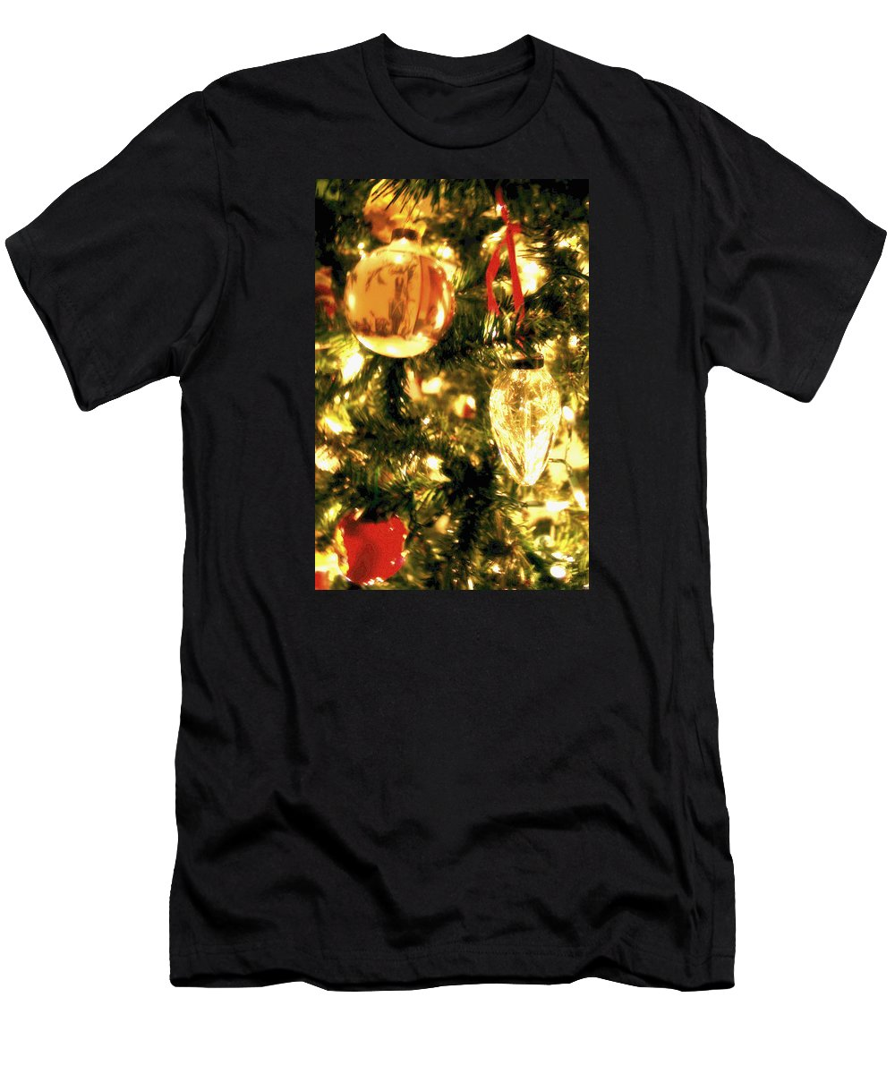 Light Men's T-Shirt (Athletic Fit) featuring the photograph Memories by Elizabeth Andrews