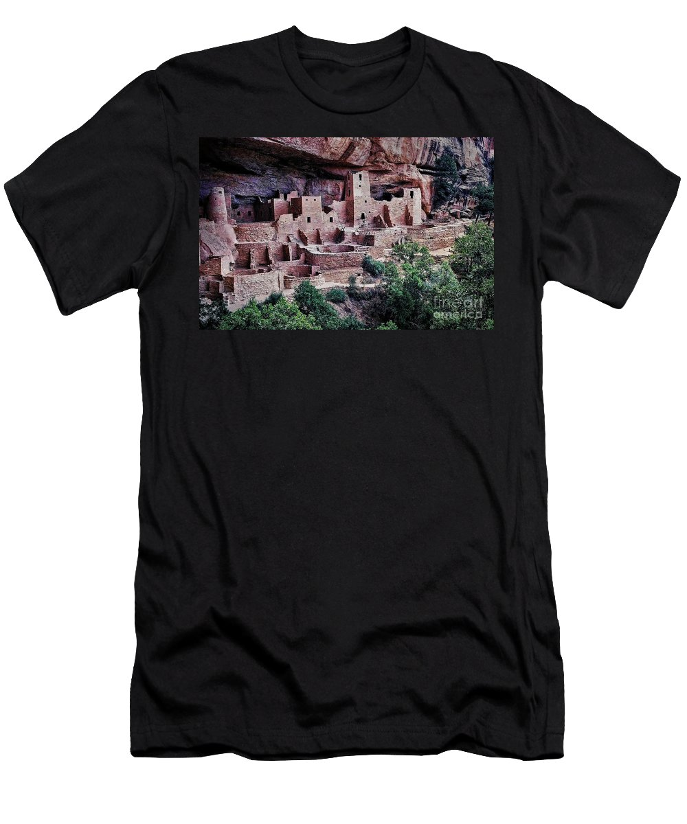 Mesa Verde Men's T-Shirt (Athletic Fit) featuring the photograph Mesa Verde by Heather Applegate