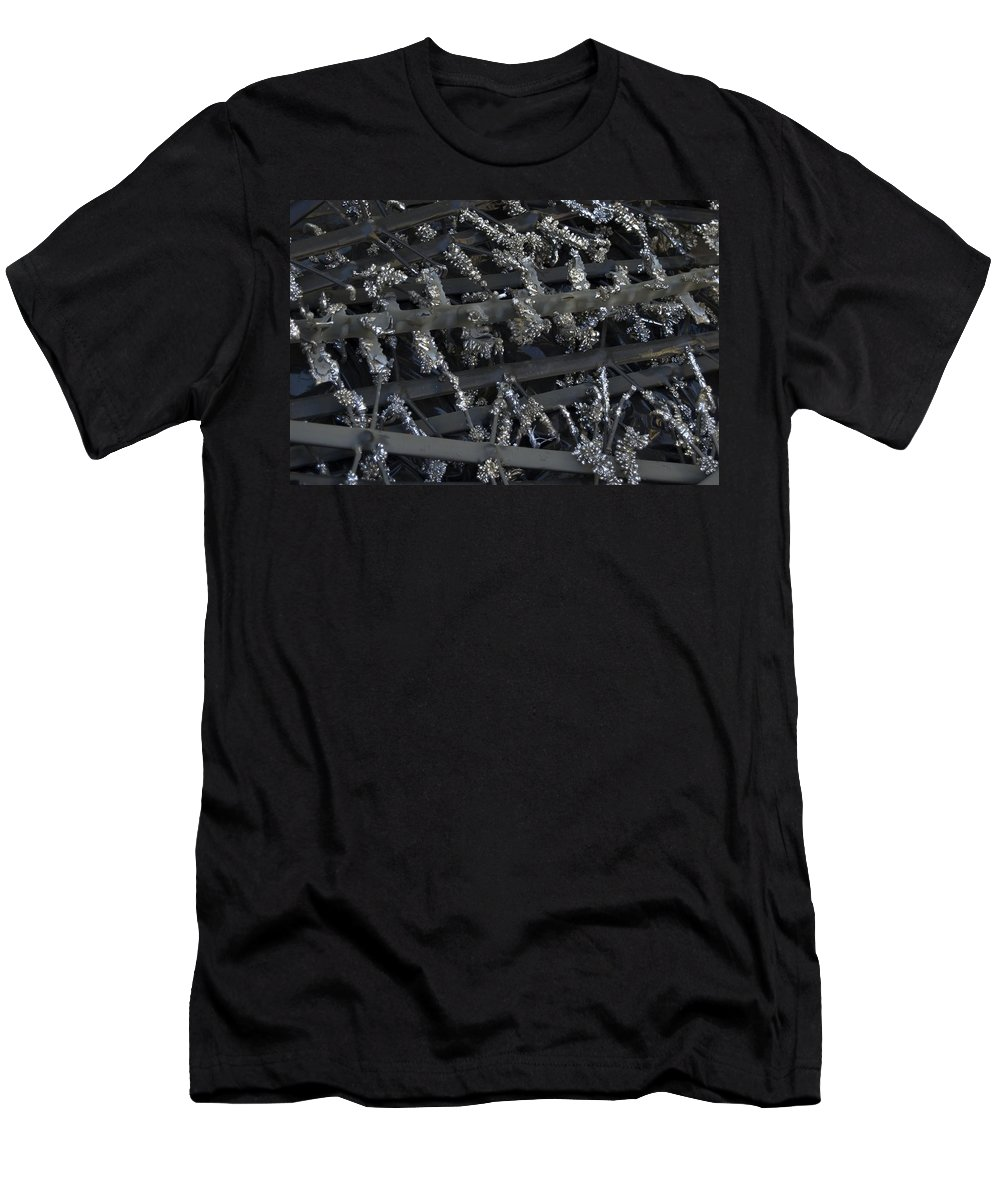 Metal Men's T-Shirt (Athletic Fit) featuring the photograph Metal by Sara Stevenson