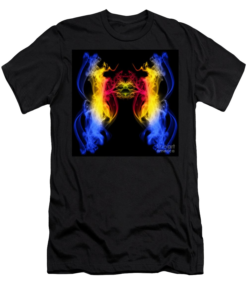 Clay Men's T-Shirt (Athletic Fit) featuring the digital art Metamorphis by Clayton Bruster