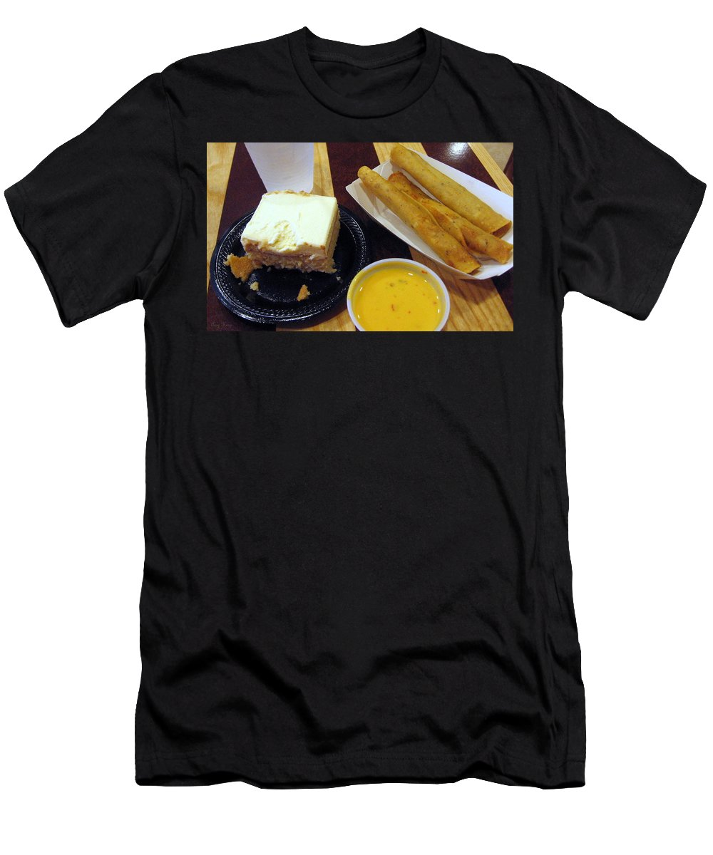 Queso Men's T-Shirt (Athletic Fit) featuring the photograph Mexican All The Way by Amy Hosp