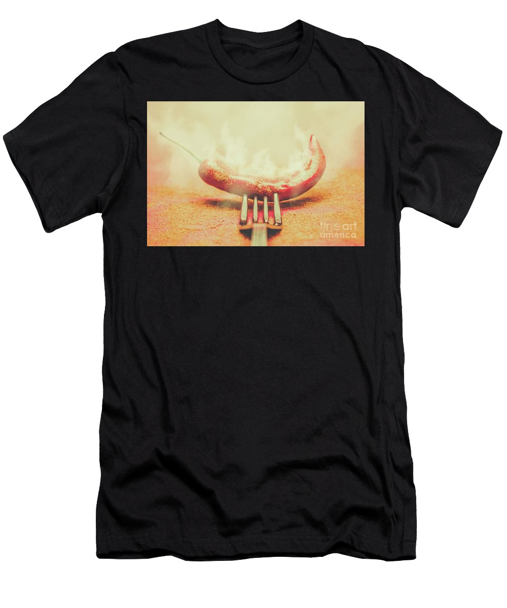 Smoke T-Shirt featuring the photograph Mexican Restaurant Artwork by Jorgo Photography - Wall Art Gallery
